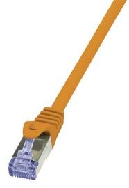 Vads LogiLink Cable CAT6 S/FTP 0.25m Orange