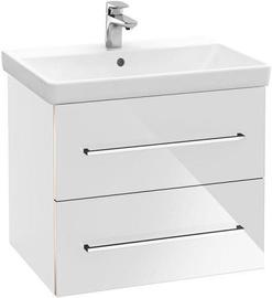 Vannas istabas skapītis Villeroy & Boch Avento with Basin 567 x 447 mm Crystal White