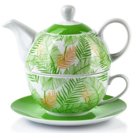 Mondex Claris Jug With Cup Set Green