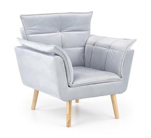 Atzveltnes krēsls Halmar Rezzo Light Grey, 73x80x84 cm