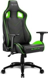 Sharkoon Elbrus 2 Gaming Chair Black Green