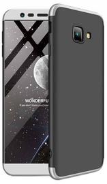 GKK 360 Protection Case For Samsung Galaxy J4 Plus J415 Black/Silver