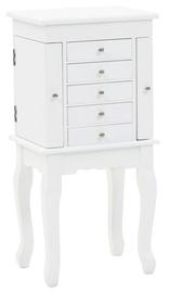 Столик-косметичка VLX Jewelery 246960, белый, 27x20x57 см, с зеркалом