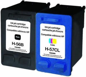Uprint Cartridge for HP Black 25ml Colour 21ml