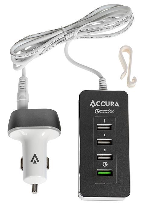 Accura Charger 36W Black