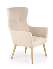 Atzveltnes krēsls Halmar Cotto, bēša, 76x73x99 cm