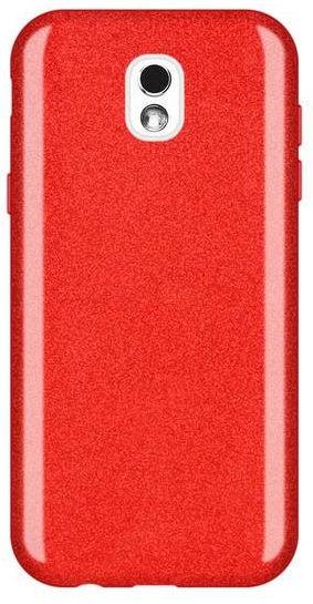 Wozinsky Glitter Shining Back Case For Samsung Galaxy J5 J530 Red