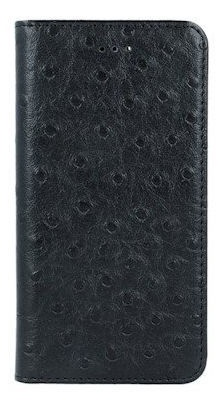 Mocco Smart Dots Book Case For Samsung Galaxy S6 Edge Black