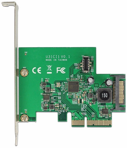 Delock 1 x USB 3.1 Gen 2 Expansion Card