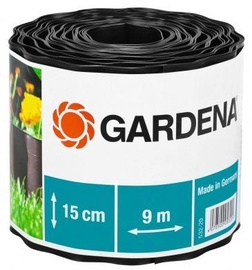 Gardena Grass Border Dark Brown 0.15x9m