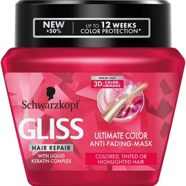 Маска для волос Schwarzkopf Gliss Kur Ultimate Color, 300 мл