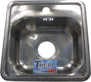 Tredi T1515 Stainless Steel 380x380mm
