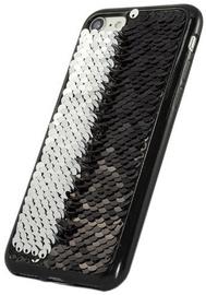 TakeMe Magic Shine Paillette Back Case For Samsung Galaxy S9 Black/Silver