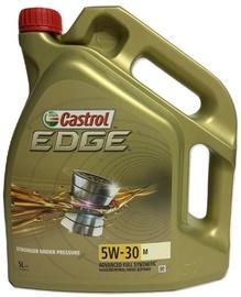 Машинное масло Castrol Edge M 5W - 30, синтетический, для легкового автомобиля, 5 л