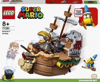 Konstruktors LEGO Super Mario Bowser gaisa kuģa paplašinājuma maršruts 71391, 1152 gab.