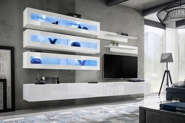 Dzīvojamās istabas mēbeļu komplekts ASM Fly J2 White