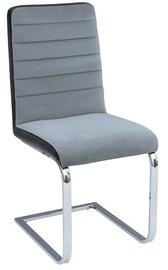 Ēdamistabas krēsls Black Red White Rory Grey