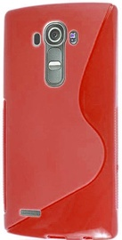 Telone S-Case Back Case For LG H736 G4S Red