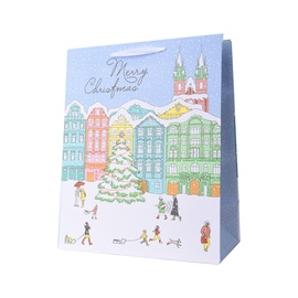 Canpol Christmas Paper Gift Bag 26.4x13.7x32.5cm Assort