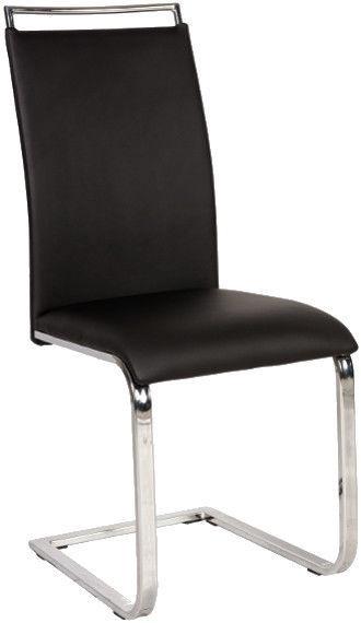 Ēdamistabas krēsls Signal Meble H334 Black, 1 gab.