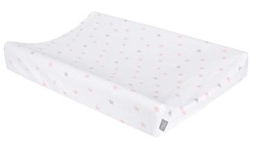 Ceba Baby Changing Mat Cover 50x70 Medium Stars Pink