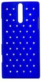 Telone Diamond Slim Hard Back Case Samsung Galaxy S3 Mini Blue