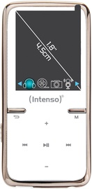 Музыкальный проигрыватель Intenso Video Scooter White, 8 ГБ