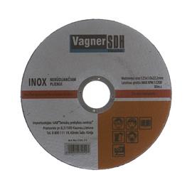 Disks nerūsējošā tērauda griešanai Vagner SDH 125x1,0x22,23mm