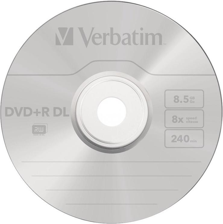 Verbatim DVD+R DL 8.5GB 8x 50pcs