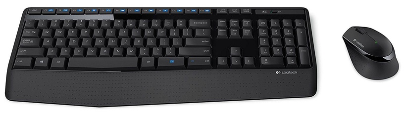 Logitech MK345 Wireless Combo Keyboard + Mouse ENG Black