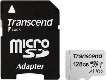 Transcend 300S microSDXC 128GB UHS-I Class 10 + Adapter