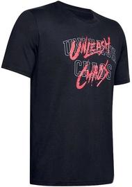 T-krekls Under Armour Mens Baseline Mantra T-Shirt 1351297-001 Black S