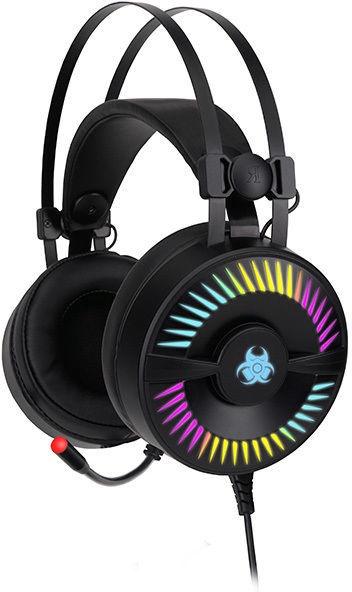 Spēļu austiņas Tracer GameZone Madman RGB Black