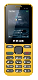 Maxcom MM 139 Dual Sim Yellow