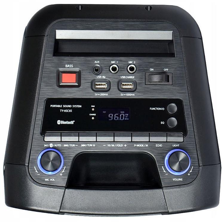Bezvadu skaļrunis Toshiba TY-ASC65, melna, 65 W