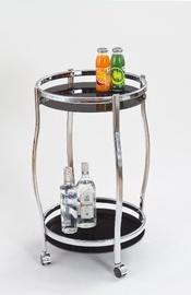 Bāra galds Halmar Bar-8 Black, 420x420x710 mm
