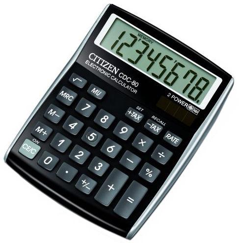 Citizen Office Calculator CDC-80BK