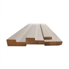 Koka rāmis 70x30x2060 mm, gruntēts 60 komplekts (Monte)