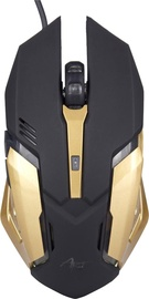 ART AM-98 Gaming Mouse USB Black/Gold