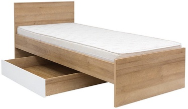 Black Red White Drawer For Bed Balder Oak/White
