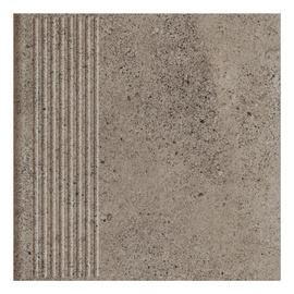 Paradyz Ceramika Clinker Tiles Stylo Graphite With Stripes 30x30cm
