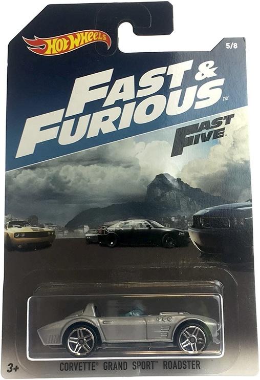 Детская машинка Hot Wheels Fast & Furious Fast Five