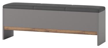 Скамейка Szynaka Meble Livorno 65 Grey, 1650x350x470 мм