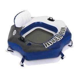 Надувной поплавок Intex 68565NP, синий/белый/черный, 1300x1260 мм
