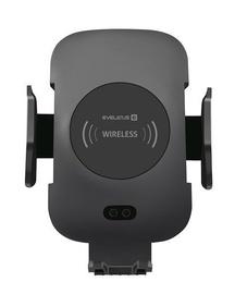 Telefona turētājs Evelatus Wireless Charger Car Holder Black WCH01