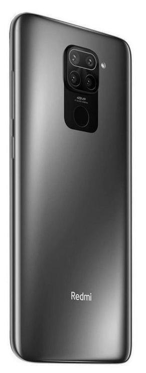 Mobilais telefons Xiaomi Redmi Note 9, melna, 4GB/128GB