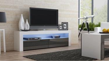 ТВ стол Pro Meble Milano 157 With Light White/Grey, 1575x350x500 мм