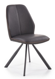 Halmar Chair K319 Brown/Black