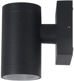 Verners Outdoor Wall Lamp 35W GU10 Black