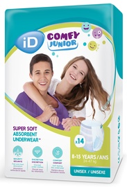 iD Comfy Junior Pants 8-15 Years 14pcs